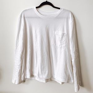 Boxy Long Sleeved Tee // GAP